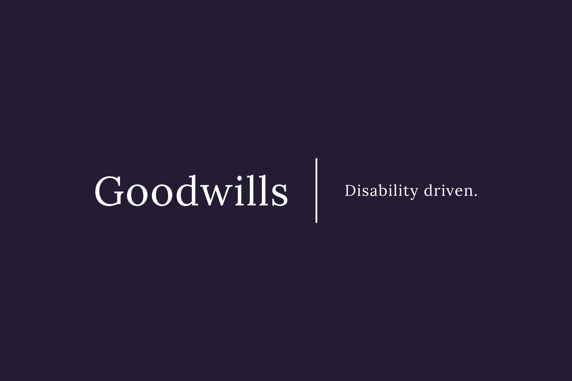 Goodwills
